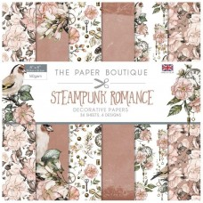 The Paper Boutique - Steampunk Romance 8x8 Paper Pad