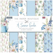 The Paper Boutique - Summer Garden 8x8 Paper Pad