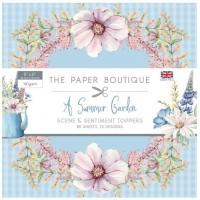 The Paper Boutique - Summer Garden 5x5 Sentiments Pad