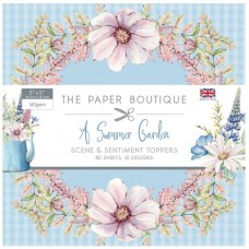 The Paper Boutique - Summer Garden 5x5 Sentiments Pad