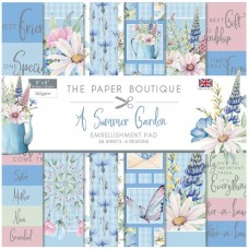 The Paper Boutique - Summer Garden 8x8 Embellishments Pad
