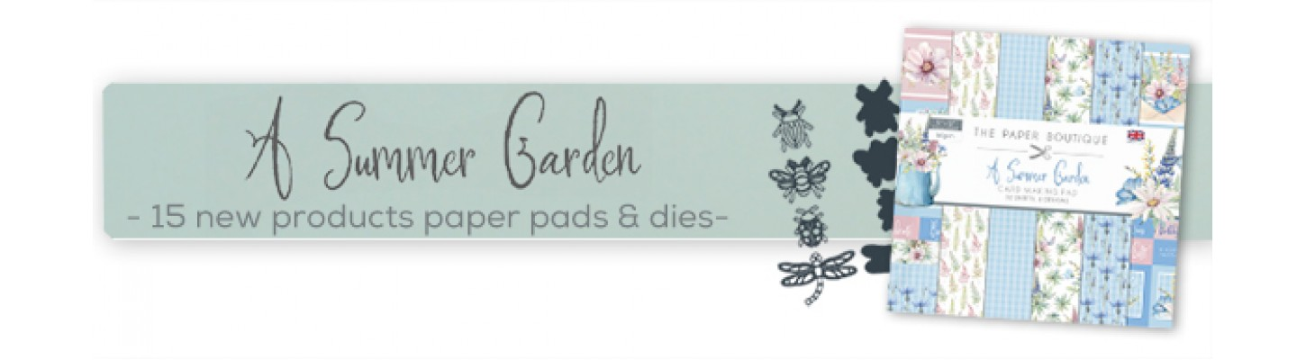 Summer Garden by The Paper Boutique