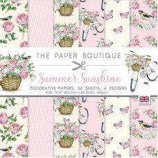 The Paper Boutique - Summer Sunshine 8×8 Paper Pad