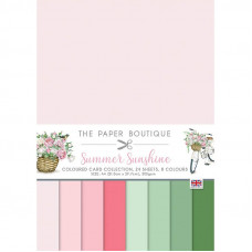 The Paper Boutique - Summer Sunshine Colour Card Collection
