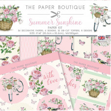 The Paper Boutique - Summer Sunshine Paper Kit