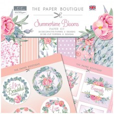 The Paper Boutique - Summertime Blooms - Paper Kit