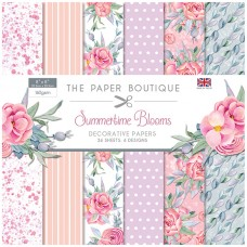 The Paper Boutique - Summertime Blooms - 8x8 Paper Pad