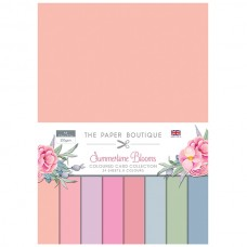 The Paper Boutique - Summertime Blooms - Colour Card Collection