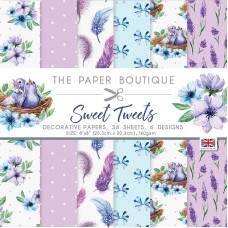 The Paper Boutique - Sweet Tweets 8×8 Paper Pad