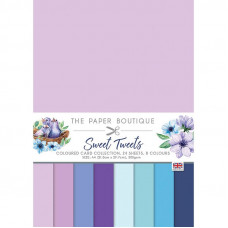 The Paper Boutique - Sweet Tweets Colour Card Collection