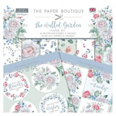 The Paper Boutique - The Walled Garden Paper Kit