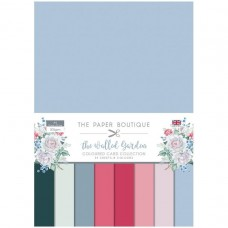 The Paper Boutique - The Walled Garden Colour Card Collection