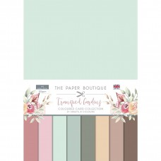 The Paper Boutique - Tranquil Gardens Colour Card Collection