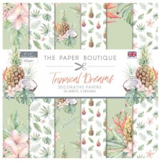 The Paper Boutique - Tropical Dreams 8x8 Paper Pad