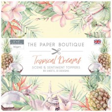 The Paper Boutique - Tropical Dreams 5x5 Sentiments Pad