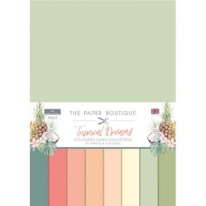The Paper Boutique - Tropical Dreams Colour Card Collection