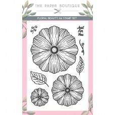 The Paper Boutique - Floral Blooms A6 Stamp Set