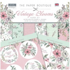 The Paper Boutique - Vintage Blooms Paper Kit