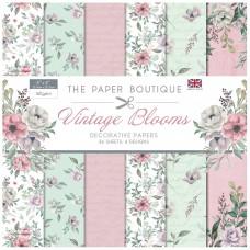 The Paper Boutique - Vintage Blooms - 8×8 Paper Pad