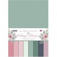 The Paper Boutique - Vintage Blooms - Colour Card Collection