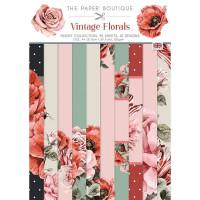 The Paper Boutique - Vintage Florals Insert Collection