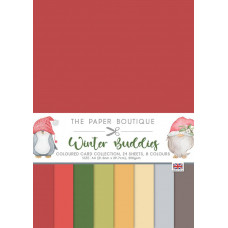 The Paper Boutique - Winter Buddies Colour Card Collection
