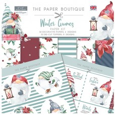 The Paper Boutique - Winter Gnomes Paper Kit