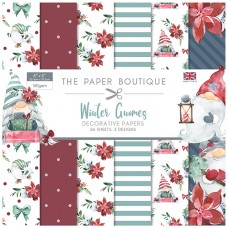 The Paper Boutique - Winter Gnomes 8x8 Paper Pad