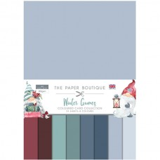 The Paper Boutique - Winter Gnomes Colour Card Collection