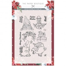 The Paper Boutique - Winter Gnomes A5 Stamp Set