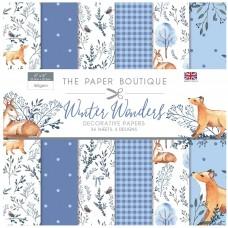 The Paper Boutique - Winter Wonders - 8×8 Paper Pad