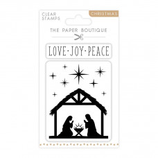 The Paper Boutique - Nativity A6 Stamp Set