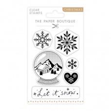The Paper Boutique - Let it Snow A6 Stamp Set