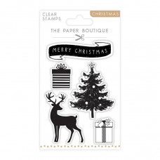 The Paper Boutique - Merry Christmas A6 Stamp Set