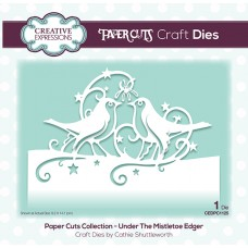 Festive Paper Cuts Collection - Under The Mistletoe