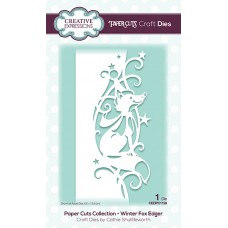 Festive Paper Cuts Collection - Winter Fox