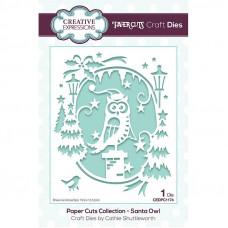 Paper Cuts Scene - Santa Owl Craft Die