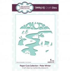 Paper Cuts Scene - Polar Winter Craft Die