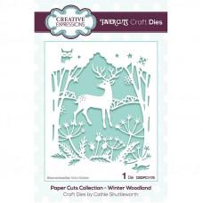 Paper Cuts Scene - Winter Woodland Craft Die