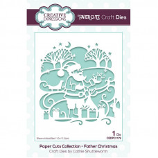 Paper Cuts Scene - Father Christmas Craft Die