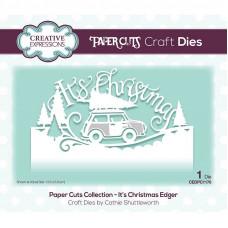 Paper Cuts Edger Craft Die - It's Christmas
