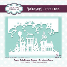 Paper Cuts - Christmas Town Double Edger Craft Die - DISPATCHING MONDAY 19th JULY