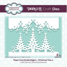 Paper Cuts - Christmas Tree-o Double Edger Craft Die