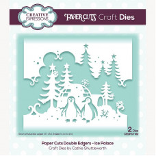 Paper Cuts - Ice Palace Double Edger Craft Die - DISPATCHING MONDAY 19th JULY