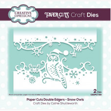 Paper Cuts - Snow Owls Double Edger Craft Die