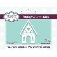 Paper Cuts - Mini Christmas Cottage Craft Die