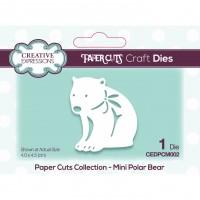 Paper Cuts - Mini Polar Bear Craft Die