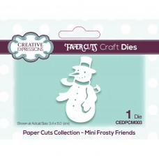 Paper Cuts - Mini Frosty Friends Craft Die