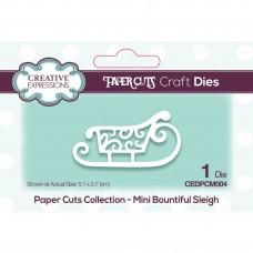 Paper Cuts - Mini Bountiful Sleigh Craft Die