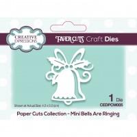 Paper Cuts - Mini Bells Are Ringing Craft Die